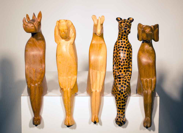 All animal variations displayed together, perfect for any mantle or flat surface in your home
