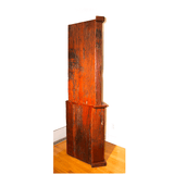 Alternate view: Antique 'Corner Bookcase' Hand Made Red Jarrah Wood Bookcase from Zimbabwe