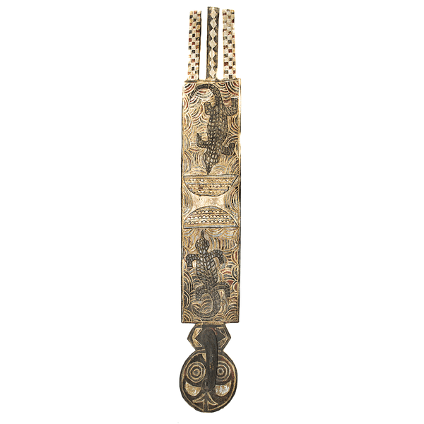 One of a kind African Fine Art: Authentic 'Plank Mask' from Burkina Faso Made in 1963