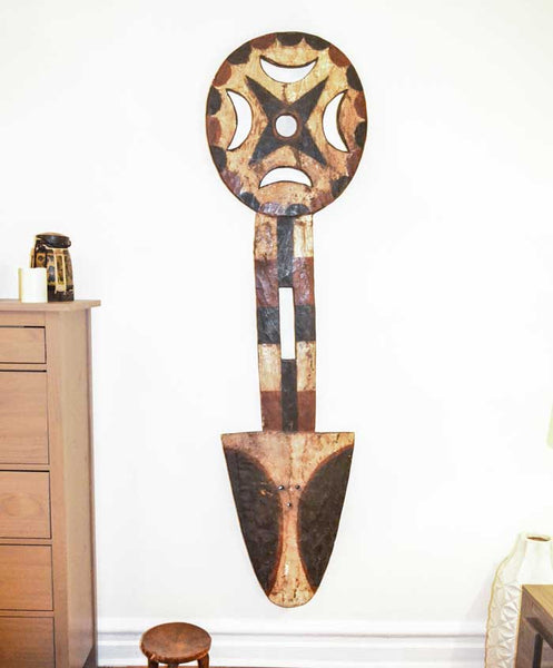 One of a kind African Fine Art: Authentic 'Bedu Mask' from Cameroon Made in 1963