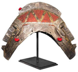 Authentic 'Dogon Mask' from Mali Made in 1948, as seen with a custom made mask stand included in your purchase