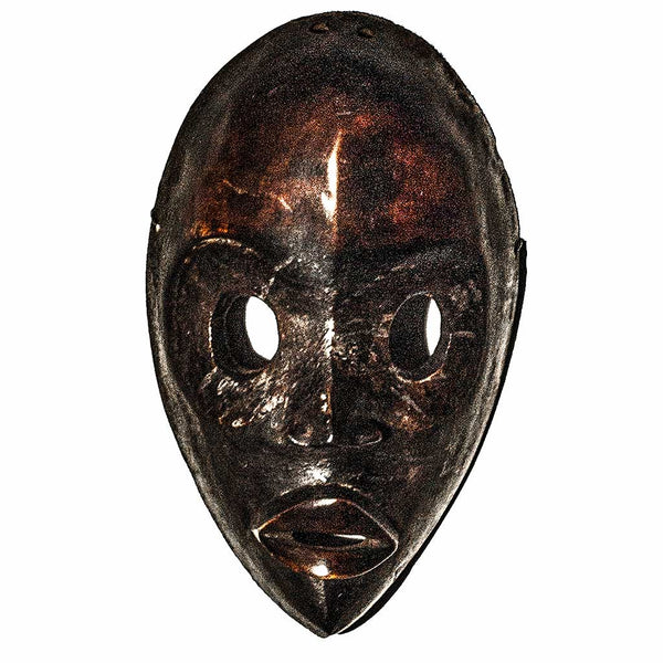 One of a kind African Fine Art: Authentic 'Dan Mask' from the Ivory Coast Made in 1978