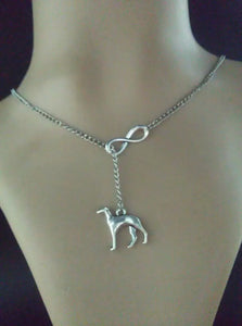 Greyhound  Fashion Vintage silver charm chain suitable necklace&bracelet