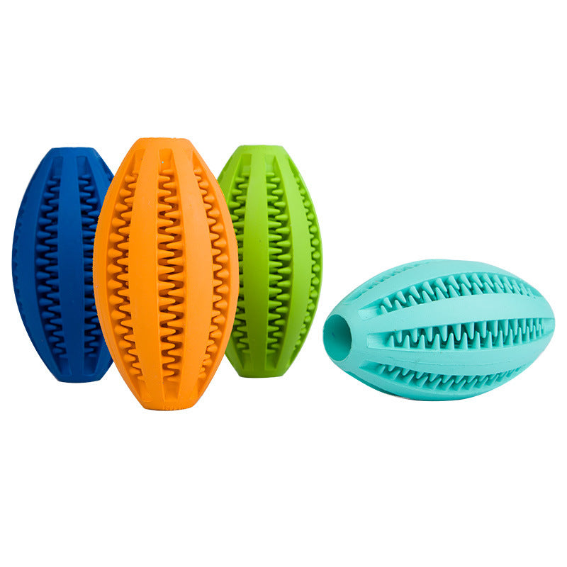 Rubber Ball Toys for Puppy and Adult ,Chew Toys Tooth Cleaning