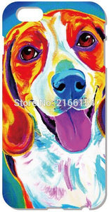 Beagle Phone Cover For iphone 5 5S SE 5C 6 6S 7 Plus Touch 5 6 For Samsung Galaxy S3 S4 S5 Mini S6 S7 Edge Note 3 4 5 C5 Case