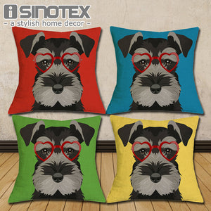 Schnauzer pillow  Cover