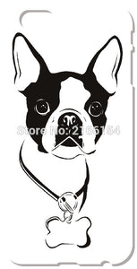 Boston Terrier Cover For iphone 5 5S SE 5C 6 6S 7 Plus Touch 5 6 For Samsung Galaxy S3 S4 S5 Mini S6 S7 Edge Note 3 4 5 C5 Case