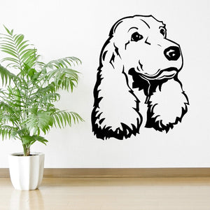 COCKER SPANIEL vinyl wall art room sticker