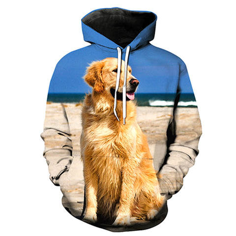 Golden retriever hoodie for Men