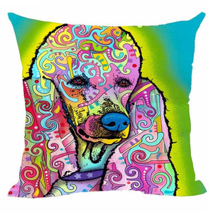 Poodle  Decorative Cushion Covers
