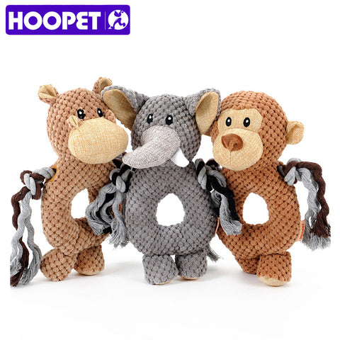Squeak  monkey / elephant Ring toy