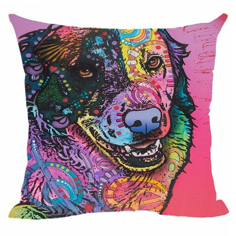 Golden Retriever  Cushion Cover