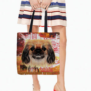 Pekingese Shopping  Bags