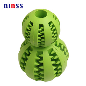 7 CM 5 CM Soft  Rubber Chew Toy Ball For Small Medium Large Dogs