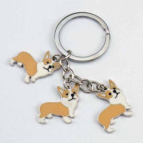 Welsh Corgi Pembroke Key Chains