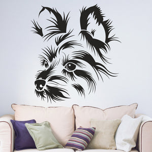 Yorkshire Terrier  Vinyl Wall Art Sticker
