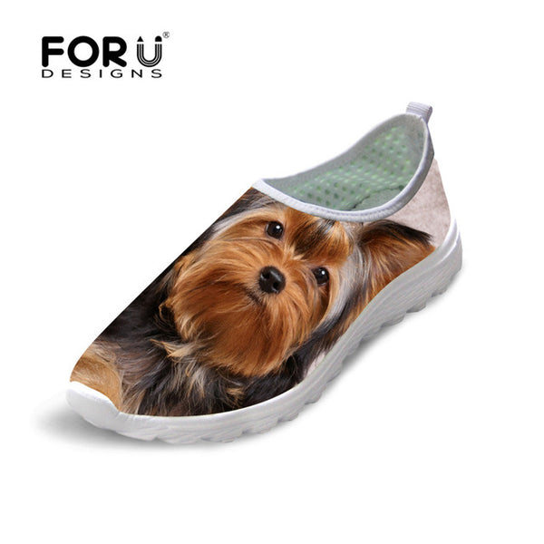 Yorkshire terrier Slip-on shoes Lightweight Breathable