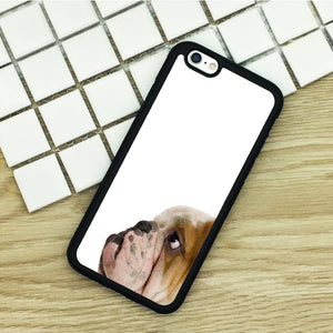 Soft TPU Phone Cases For iPhone 6 6S 7 Plus 5 5S 5C SE 4 4S ipod touch 4 5 6 Cover Shell English Bulldog Face