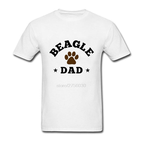 Beagle Dad T Shirt  for Men