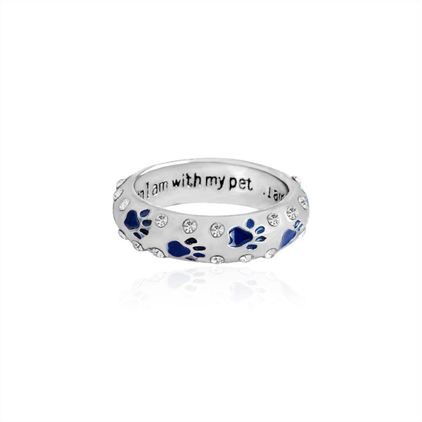 Paw Ring for stylish dog lovers