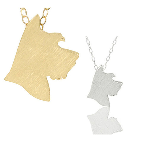 Schnauzer  Choker Charm Necklaces
