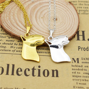 fashion accessory  Bull Terrier pendant necklace Women trendy collar choker