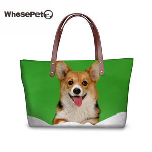 Welsh Corgi Pembroke Women  Top-handle handbag