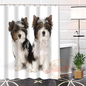 Yorkshire Terrier Shower Curtain