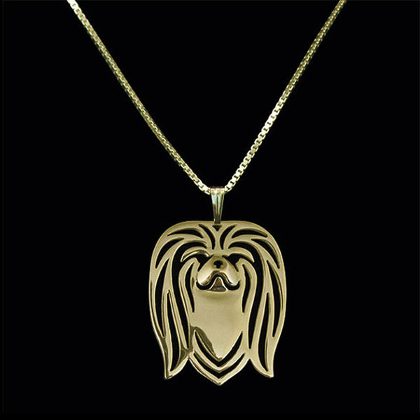 Pekingese Pendant Necklaces