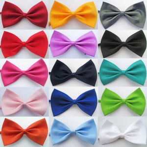 50 pcs dog tie bow grooming accessories