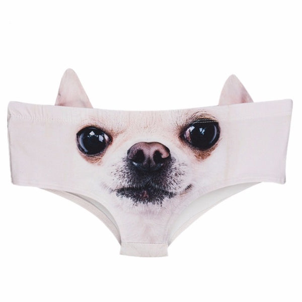 Cute Underwear for Chihuahua  lovers  with Ears