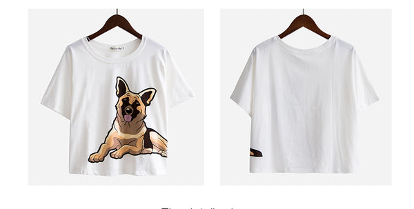 cute top for German shepherd lovers