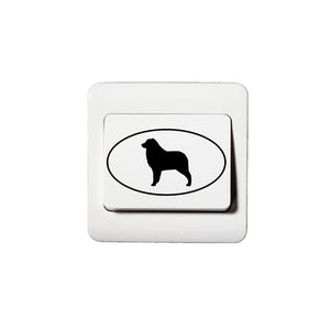 Australian Shepherd  Oval  Stickers