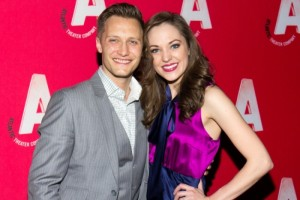 Laura Osnes and husband Nathan Johnson