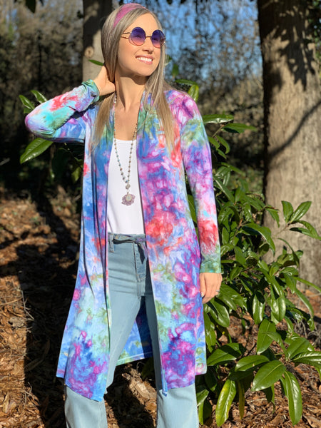 Tropical night duster