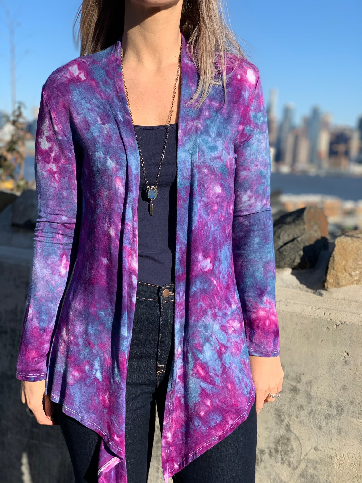 Milky Way cardigan