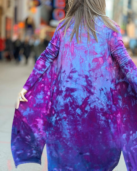 Purple galaxy duster