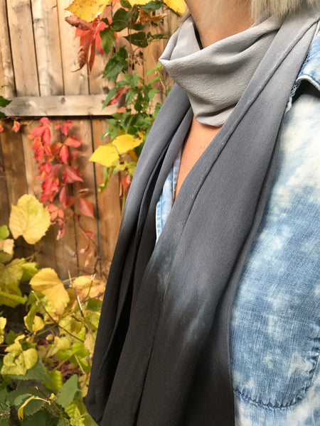 Sacrifice Scarf (grey/blk)