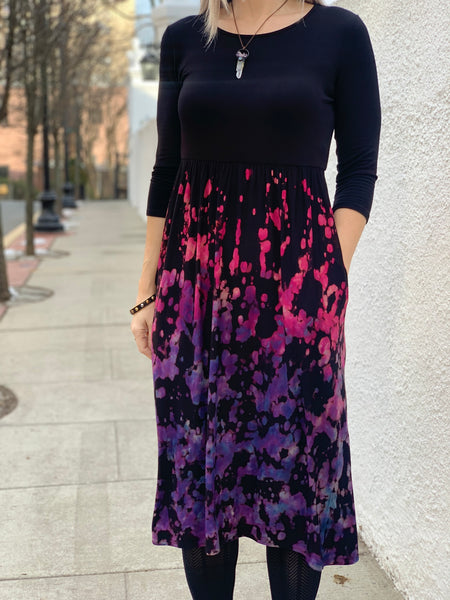 Empire waist midi dress