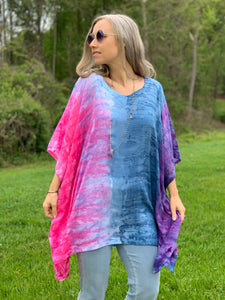 Shoreline sunset tunic