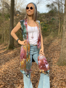 Rainbow mountains vest