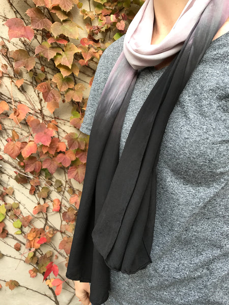 Sacrifice Scarf (lt. grey/blk)
