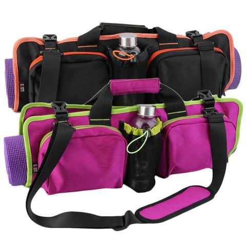2017 New Flexible yoga mat bag - multifunctional purpose bag