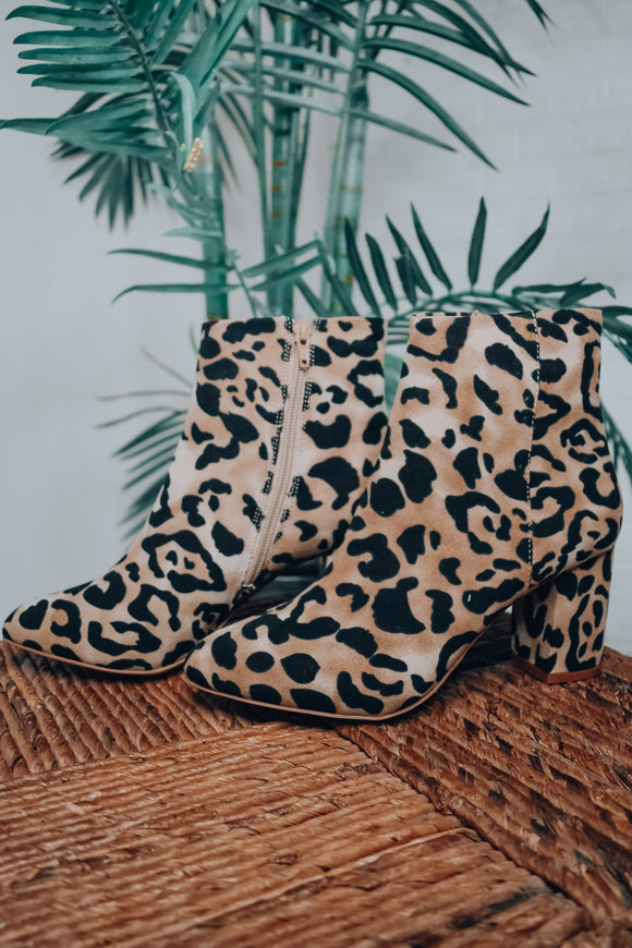 Band of Gypsies: Andrea Leopard Bootie
