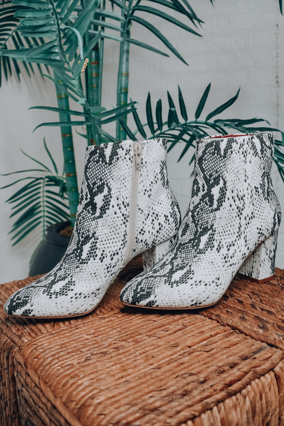 Band of Gypsies: Andrea Snake Bootie