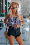 Paisley Crop Top
