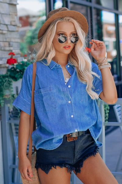 Denim Life Shirt