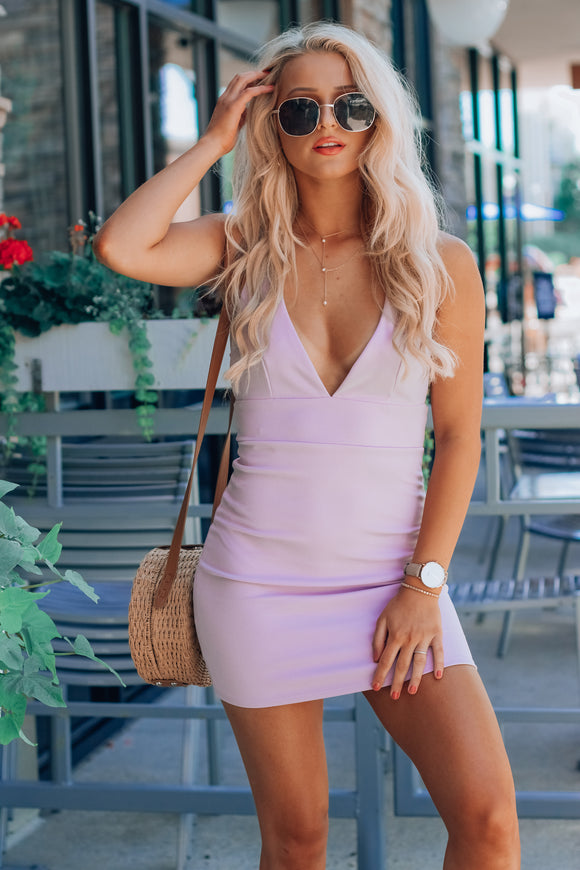Lilac Girly Dress