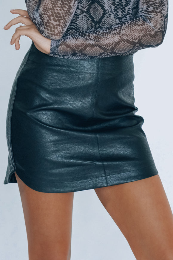 Staple Pleather Skirt