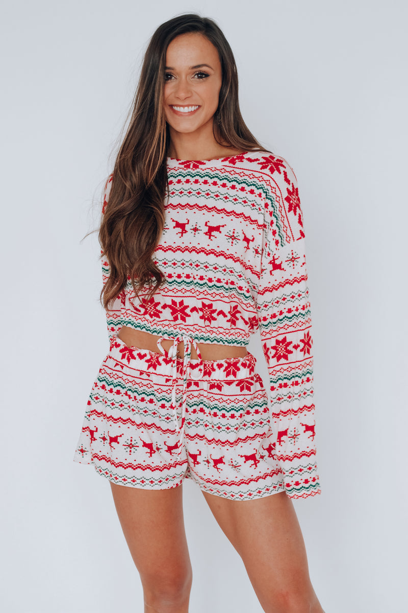 RESTOCKED:Christmas Pajama Set